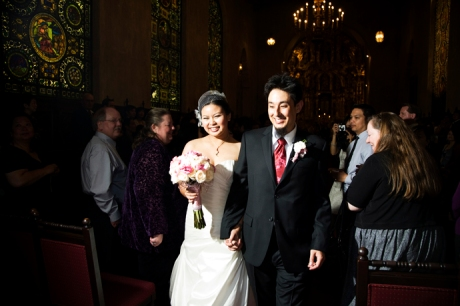 Wedding Ceremony at the Mission Inn