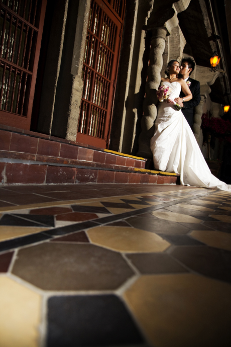 Wedding Pictures at Mission Inn