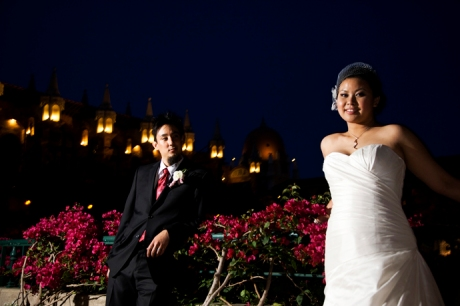 Wedding Pictures at the Mission Inn
