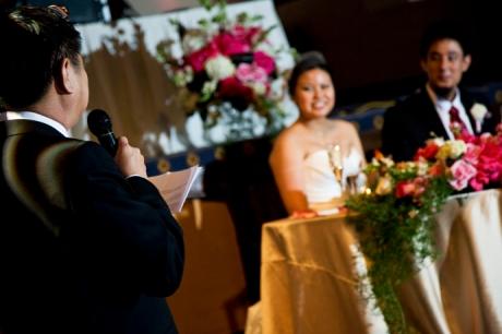 Wedding Reception at the Mission Inn