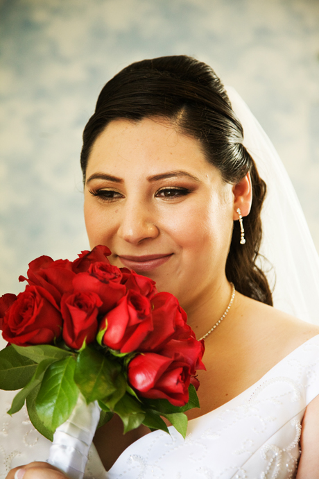 Bride at Puddingstone Resort