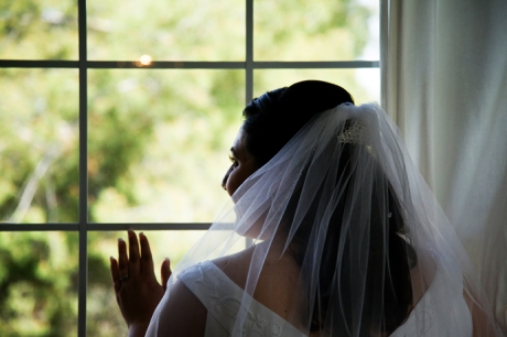 Bride at Puddingstone Resort