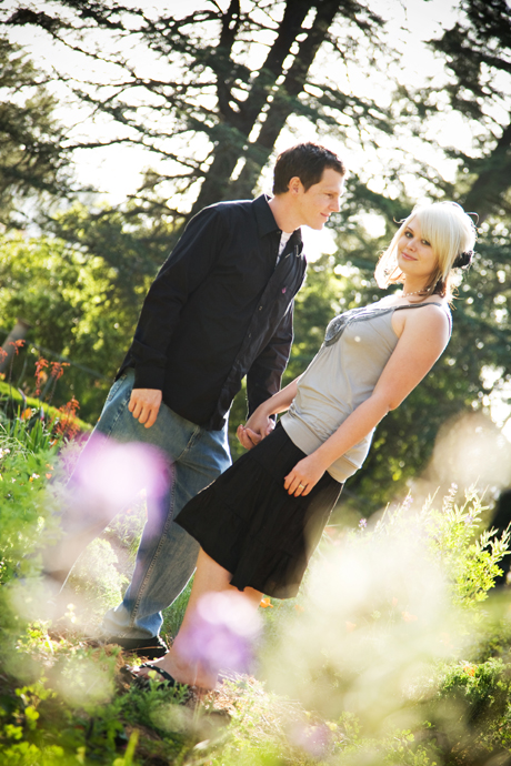 Engagement Shoot at Westmont College