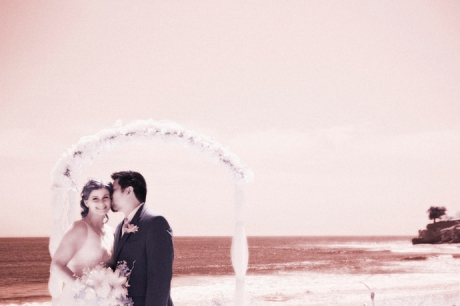 Infrared Wedding Pictures in Santa Barbara