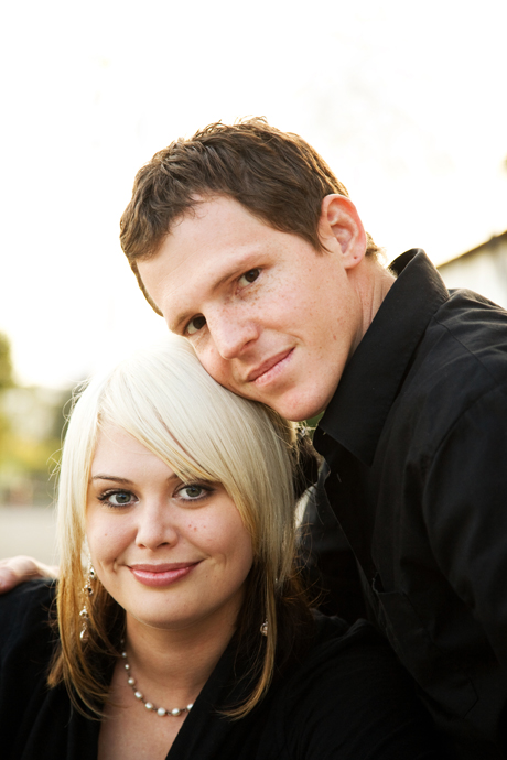 Engagement Shoot at Santa Barbar Mission