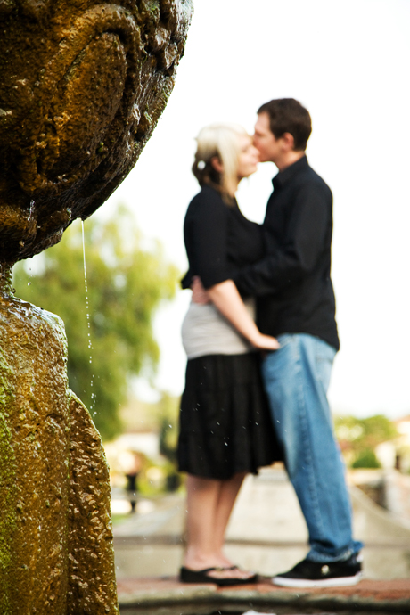 Engagement Shoot at the Santa Barbara Mission