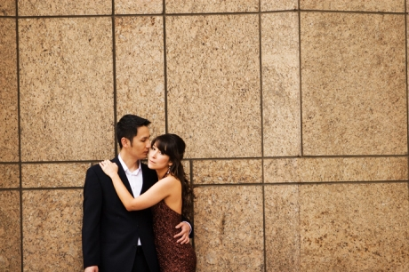 Los Angeles Union Station Engagement Photography