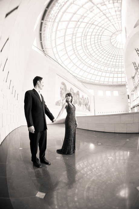 Engagement Photography at Los Angeles Union Station