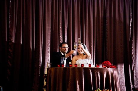 Pacific Hills Banquet Wedding Reception
