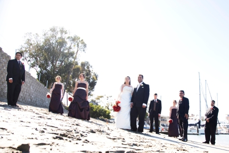 Newport Harbor Wedding Photographs