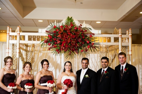 Pacific Hills Banquet Center Wedding
