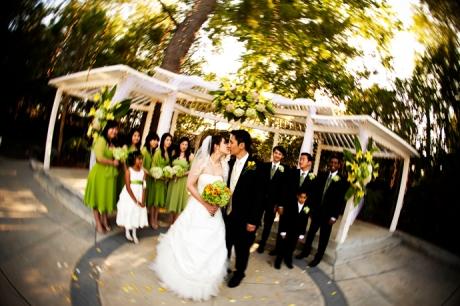 Wedding Pictures at Calamigos Equestrian Center