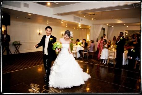 Wedding Reception at Calamigos Equestrian