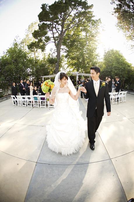 Wedding Ceremony at Calimigos Equestrian