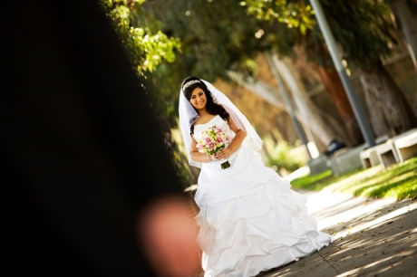 Wedding Pictures at Exposition Rose Garden