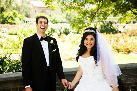 Exposition Rose Garden Wedding Pictures