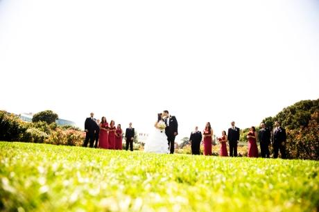 Los Angeles Rose Garden Wedding Pictures