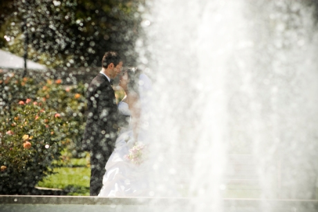 Wedding Photography at Exposition Rose Garden