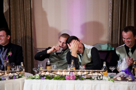 Fort MacArthur Wedding Reception