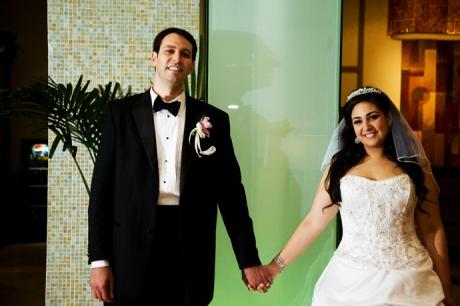 Hotel Lobby Wedding Photography