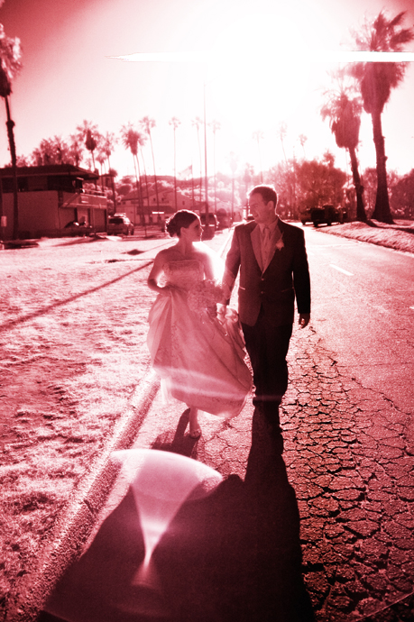 Infrared Wedding Photography in San Pedro