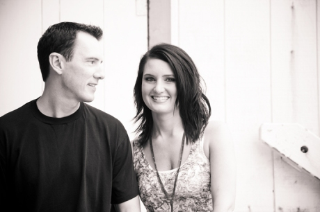 Infrared Engagement Photography in Laguna Beach