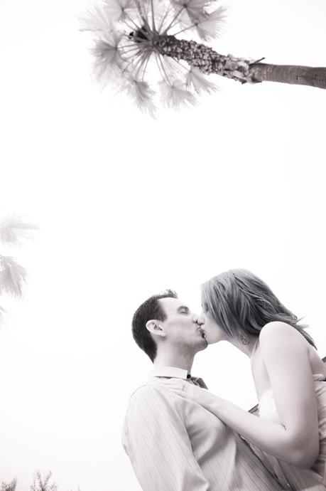 Infrared Engagement Photography in Laguna Beach