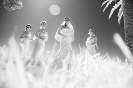 Infrared Wedding Photography at La Venta Inn