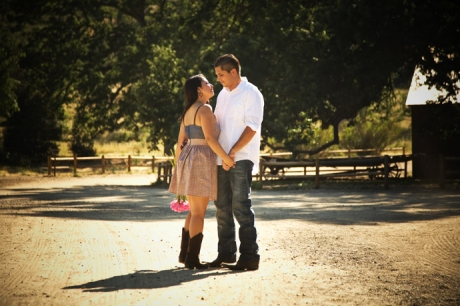 Engagement Pictures at Paramount Ranch