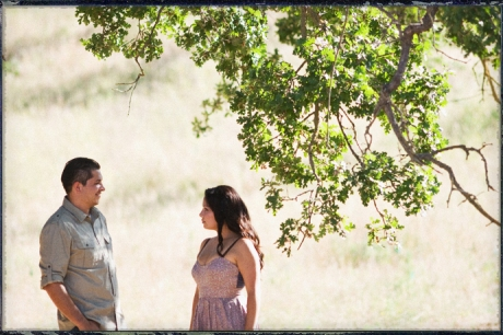 Paramount Ranch Engagement Photos