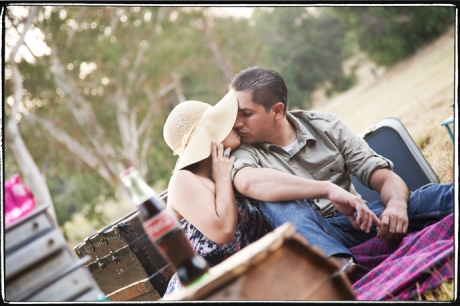 Paramount Ranch Engagement Pictures