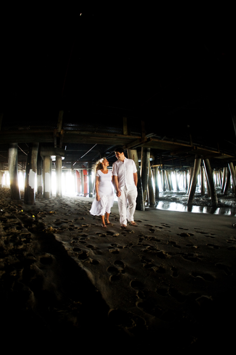 Santa Monica Engagement Photography