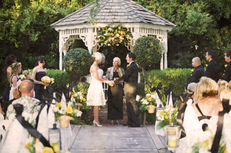 Wedding Ceremony at Edwards Mansion