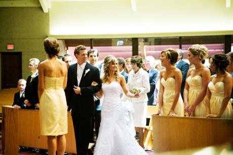 Wedding Ceremony at San Antonio Catholic Church