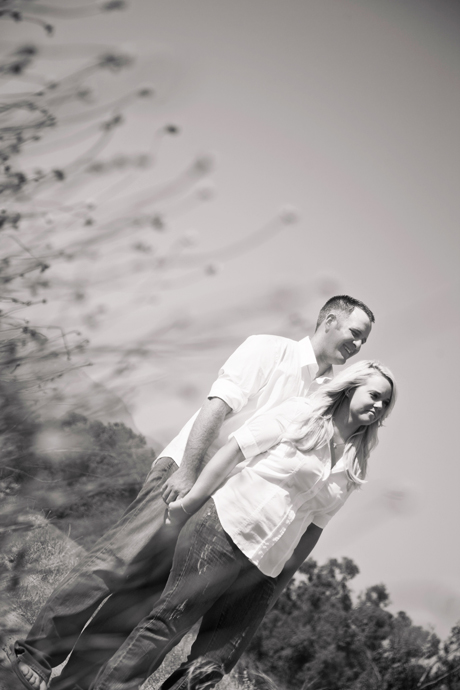 Engagement Session at Carpinteria Bluffs