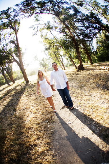 Engagement Pictures in Montecito