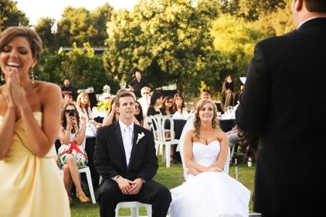 Fullerton Arboretum Wedding Reception