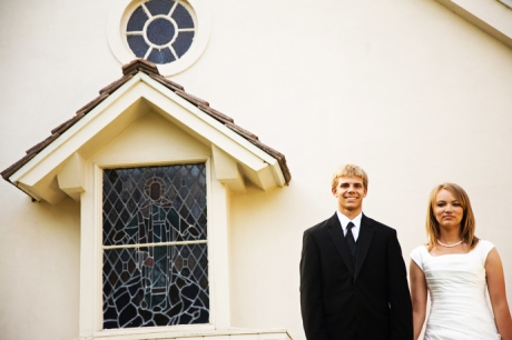 Wedding at Westmont Chapel