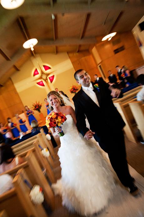 Wedding Ceremony at Faith Presbyterian San Diego