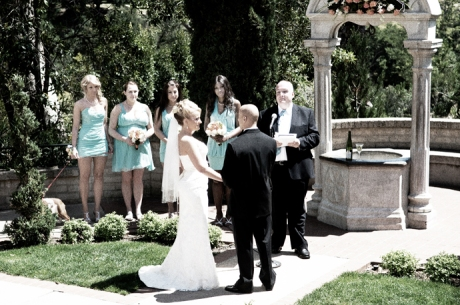 Wedding Ceremony at Balboa Park San Diego