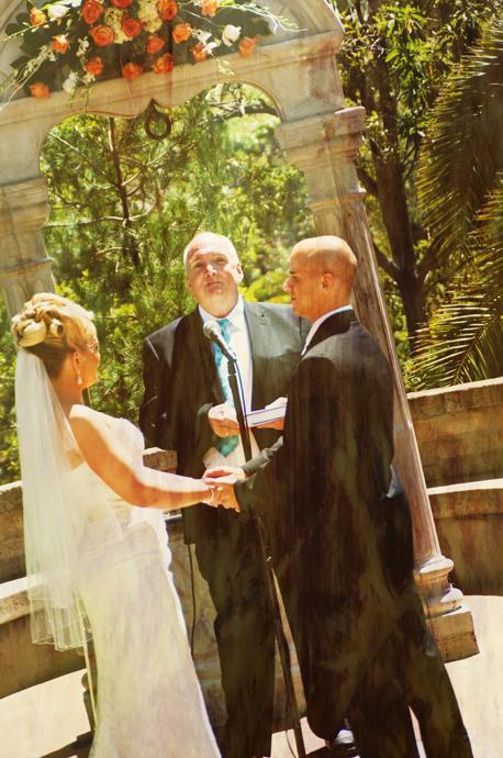 Balboa Park Wedding Ceremony