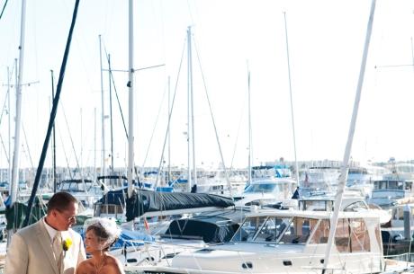 California Yacht Club Wedding