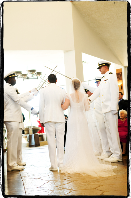 Orange County Naval Wedding