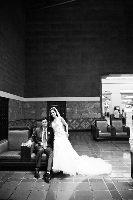 LA Union Station Wedding