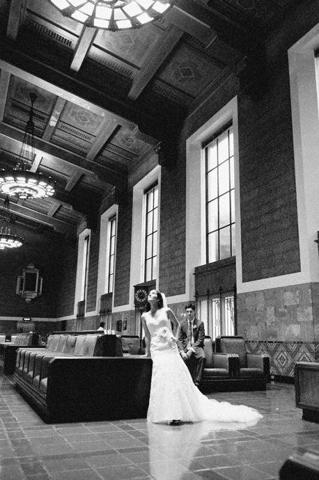 Union Station Los Angeles Wedding