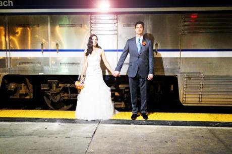Los Angeles Union Station Wedding