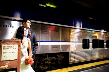 Los Angleles Union Station Wedding