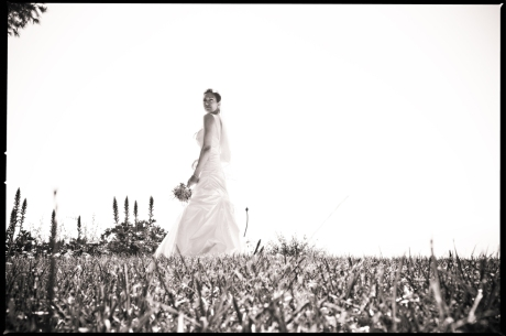 Bride at La Venta Inn