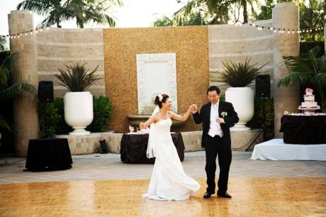 Wedding Reception at the Fairmont Newport Beach
