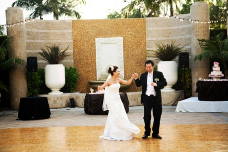 Wedding Reception at the Fairmont Newport Beach